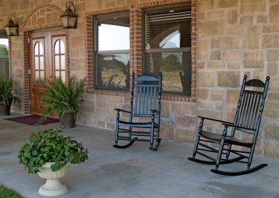 Front Patio, Rocking Chairs