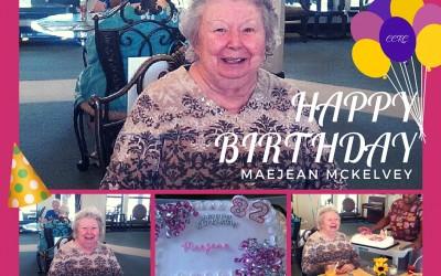 Happy Birthday Maejean!